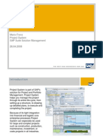 SAP Project System