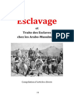 (Bibliothèque Identitaire) L'Esclavage Et Les Arabo-Musulmans (CLAN9 Islam Traite Négriers Arabes Mahomet Esclaves Racisme Anti-Blanc, Coran Hadith)