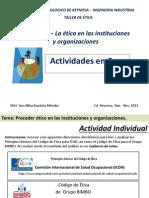 T.etica - Actividades U3