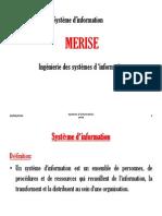 Merise Cours 2014