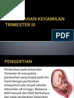 PPT Perdarahan Trimester III