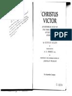 Chapter 2 Gustaf Aulen Christus Victor