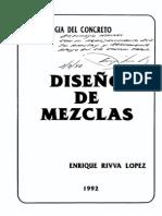 Diseño de Mezclas - Enrrique Rivva Lopez