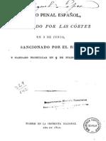 Código Penal Español 1822