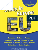 Study in Europe 2009 flyer