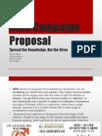aids campaign proposal