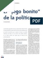 """El """"jogo bonito"""" de la política"""