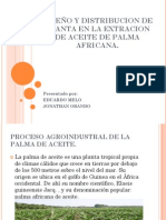 Proceso de Extracion de Aceite de Palma