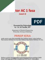 BAB 3 Motor AC 1 Fasa