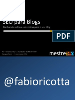 Campus Party SEO Para Blogs Fabio Ricotta