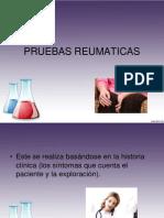 PRUEBAS REUMATICAS