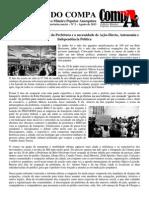 BOLETIM DO COMPA Nº 2 - As ocupações da Câmara e da Prefeitura e a necessidade de Ação-Direta, Autonomia e Independência Política