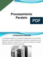 procesamiento paralelo