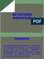 EXTINTORES PORTATILES COMPLETA