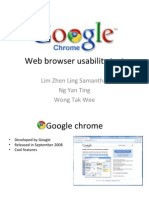 Google Chrome Ppt