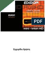 Manual Mini-triton HD GR En