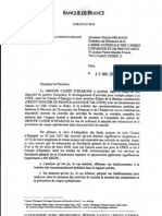 Mise en garde de mars 2008 de la Commission bancaire