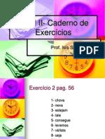 Nível II- Caderno de Exercícios 2014