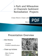 2014 Clean Rivers, Clean Lake Conference -- Lincoln Park and MKE River Channel Sediment Projects