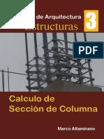 Calculo de Seccion de Columna