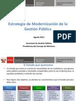 11 Sistema Nacional de Modernizacion de La Gestion Del Estado