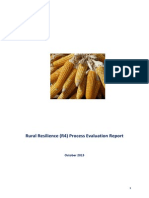 WFP Senegal R4 Process Evaluation Report