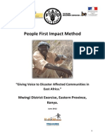 FAO Kenya Mwingi Report June 2012