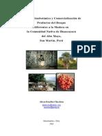 Etnobotanico y Comercializacion