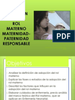 Adopcion Del Rol Materno