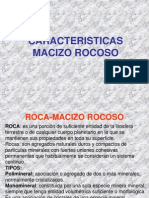 Características Macizo Rocoso