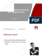 Microwave Network Planing and Design Process