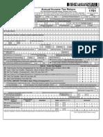 BIR Form 1701 2013