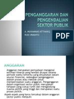 Penganggaran Dan Pengendalian Sektor Publik
