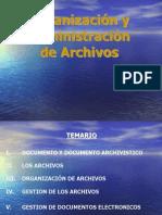 Organización y Administración Archivos