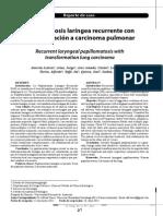 Interferon Papilomatosis Laríngea