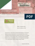 Carta do BE Olhão e Resposta do Parque Natural