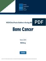 Bone Cancer - NCCN 2012