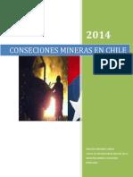 Conseciones Mineras en Chile