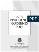 Spanish ACTFL ProficiencyGuidelines2012 FINAL