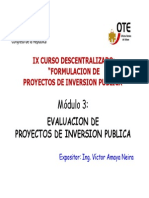 Modulo 4 Evaluacion de Proyectos