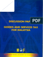GST Discussion Paper 2005