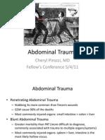 Abdominal Trauma PPT