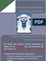 Creencias Control Personal