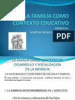 La Familia Contexto Educativo