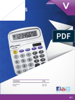 Calculadoras y Reloges