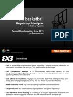 3x3 Regulatory Principles