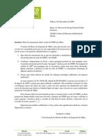 Carta do BE a Questionar Novamente o ICNB