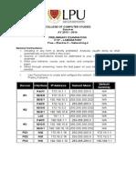Prelim It 27 Lab-Instructions