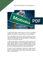 8 Puntos Para Mantenerte Motivado Mientras Mejoras Tus Finanzas