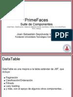 PrimeFace Suite de Componentes